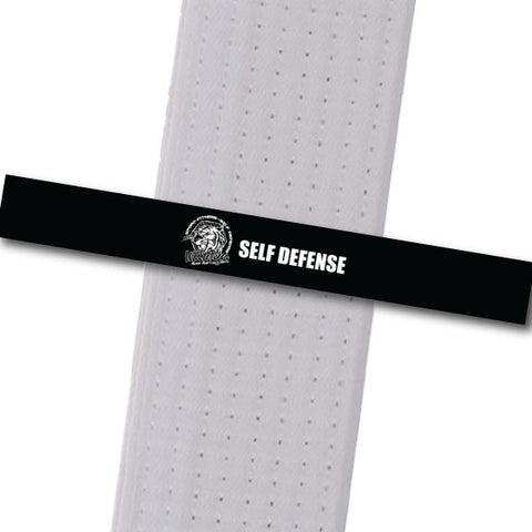White Tiger MMA - Self Defense Custom Belt Stripes - BeltStripes.com : The #1 Source for Martial Arts Belt Tape