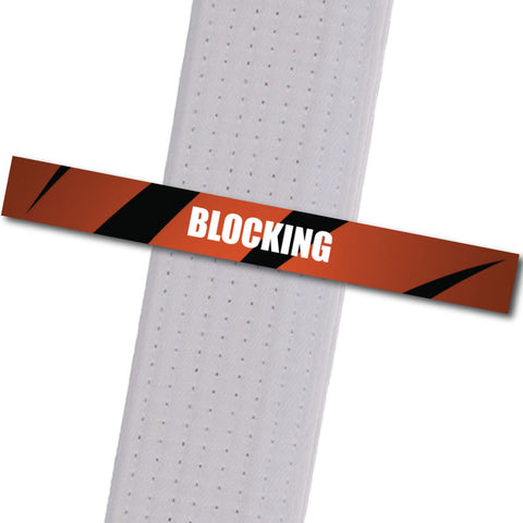 Woodinville Martial Arts - Blocking Achievement Stripes - BeltStripes.com : The #1 Source for Martial Arts Belt Tape