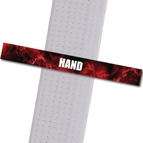 Woodinville Martial Arts - Hand Achievement Stripes - BeltStripes.com : The #1 Source for Martial Arts Belt Tape