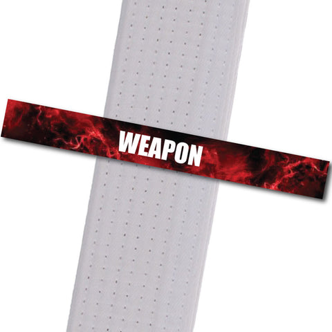 Woodinville Martial Arts - Weapon Achievement Stripes - BeltStripes.com : The #1 Source for Martial Arts Belt Tape