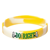 Do What's Right! Silicone Wrist Bands