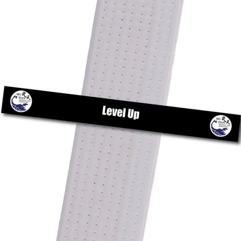 WuTian MA - Level Up Custom Belt Stripes - BeltStripes.com : The #1 Source for Martial Arts Belt Tape