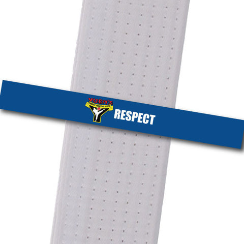 Yuens BeltStripes - Respect Achievement Stripes - BeltStripes.com : The #1 Source for Martial Arts Belt Tape