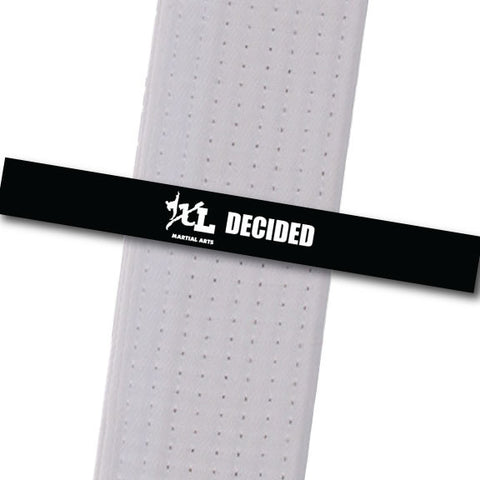 iXL Martial Arts - Decided Achievement Stripes - BeltStripes.com : The #1 Source for Martial Arts Belt Tape