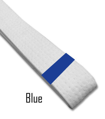 Blue Belt Stripes Blank Belt Stripes - BeltStripes.com : The #1 Source for Martial Arts Belt Tape
