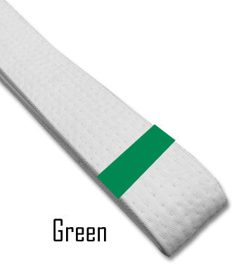 Green Belt Stripes Blank Belt Stripes - BeltStripes.com : The #1 Source for Martial Arts Belt Tape
