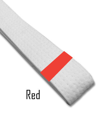 Red Belt Stripes Blank Belt Stripes - BeltStripes.com : The #1 Source for Martial Arts Belt Tape