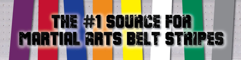 The #1 Source for Martial Arts Belt Stripes!