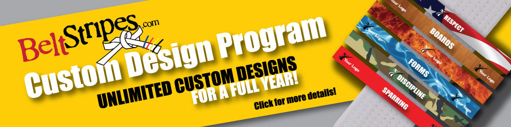 BeltStripes Custom Design Program