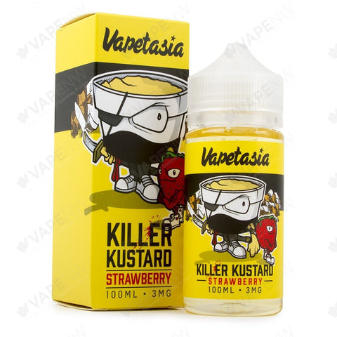Killer Kustard Strawberry 100ML 3mg