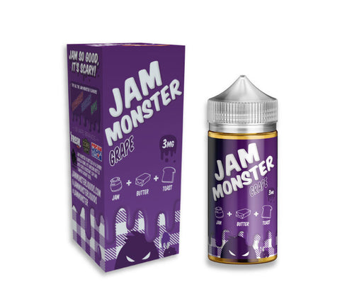 Jam Monster Grape 60ML 3mg