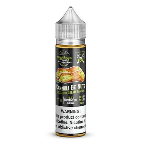CASSADAGA CANNOLI BE NUTS 60ML