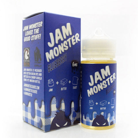 Jam Monster Blueberry 0mg  100ML