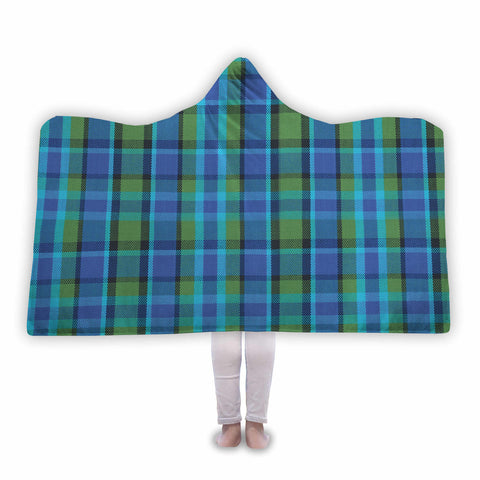 Westy Plaid Hooded Blanket Please Allow