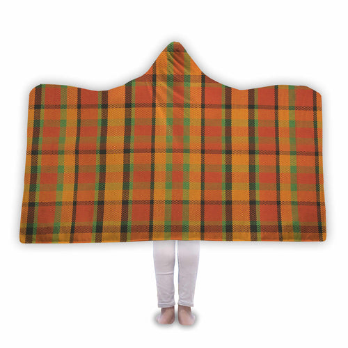 Westy Plaid Hooded Blanket, - Aircooled VW - Vintage Vdub