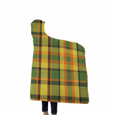 Westy Plaid Hooded Blanket