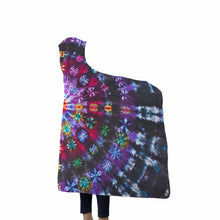 Load image into Gallery viewer, Tie Dye Hooded Blanket - Vintage Vdub
