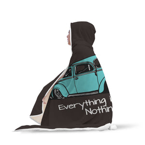"""Everything is Faster...Nothing is Cooler"" Vw Bug Blanket, - Aircooled VW - Vintage Vdub"