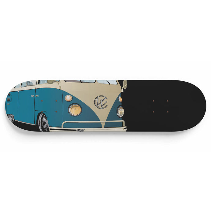 Vintage Splitty Blue/Black, - Aircooled VW - Vintage Vdub