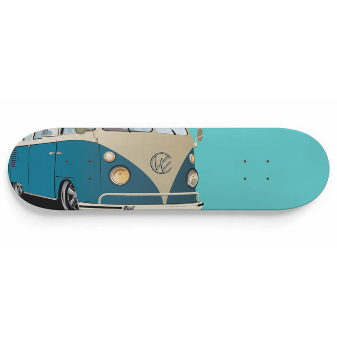 Vintage Splitty Blue/Sea Foam, - Aircooled VW - Vintage Vdub