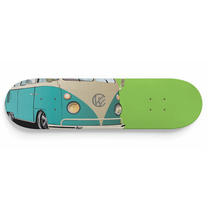 Vintage Splitty Sea Foam/Green, - Aircooled VW - Vintage Vdub