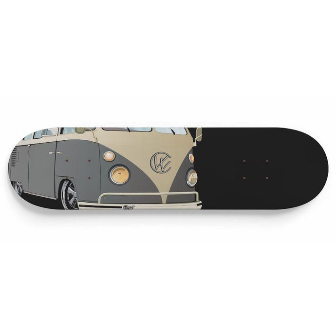 Vintage Splitty Grey/Black, - Aircooled VW - Vintage Vdub