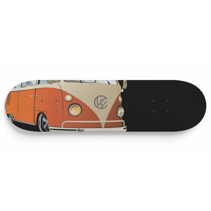 Vintage Splitty Orange/Black, - Aircooled VW - Vintage Vdub