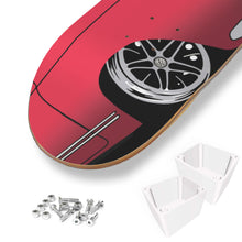 Load image into Gallery viewer, Vintage Ghia Skate Deck Red/Black, - Aircooled VW - Vintage Vdub