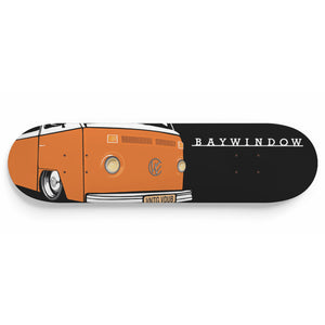 Vintage Bay Window Bus Deck Orange/Black, - Aircooled VW - Vintage Vdub