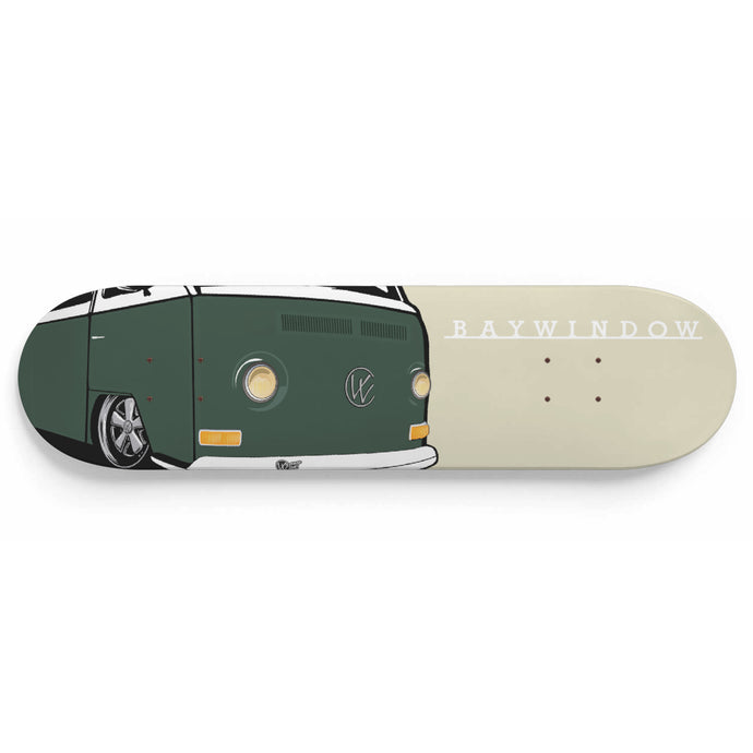 Vintage Early Bay Deck Green/Ivory, - Aircooled VW - Vintage Vdub
