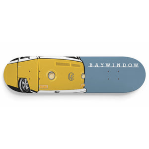 Vintage Early Bay Deck Yellow/Blue, - Aircooled VW - Vintage Vdub