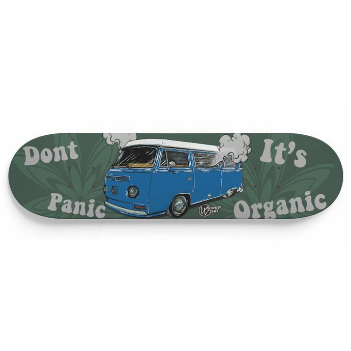 Don't Panic It's Organic Vw Bus Deck, - Aircooled VW - Vintage Vdub