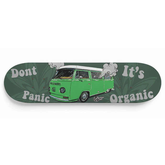 Don't Panic It's Organic Vw Bus Deck Green, - Aircooled VW - Vintage Vdub