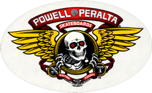 "Powell & Peralta ""Winged Ripper"" Sticker 6"", - Aircooled VW - Vintage Vdub"