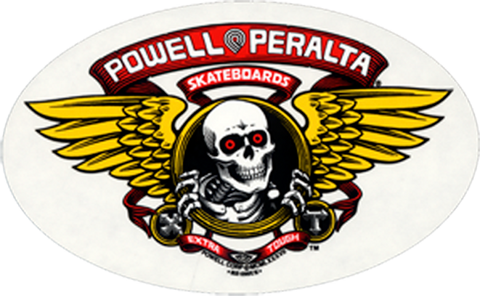 "Powell & Peralta ""Winged Ripper"" Sticker 6"""