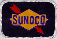 Sunoco Embroidered Patch, - Aircooled - Vintage Vdub - Vw