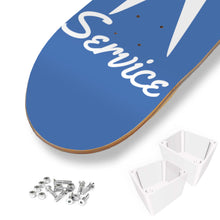 Load image into Gallery viewer, Type 4 Service Skate Deck -Blue, - Aircooled VW - Vintage Vdub