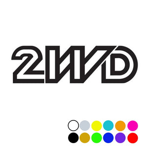 2WD Decal, - Aircooled VW - Vintage Vdub
