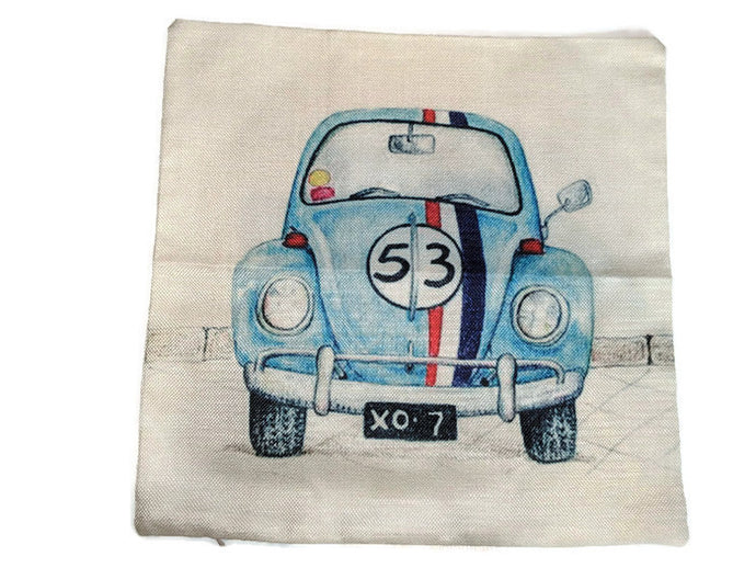 Herb Pillow Case, - Aircooled VW - Vintage Vdub