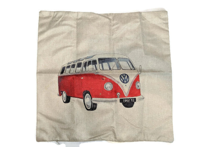 Split Window Bus  Pillow Case - Vintage Vdub