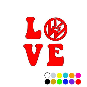Vdub Love Decal, - Aircooled VW - Vintage Vdub