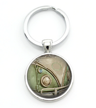 Load image into Gallery viewer, Splitty Keyring, - Aircooled VW - Vintage Vdub