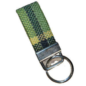 Westy Key Fob - Yellow Green, - Aircooled VW - Vintage Vdub