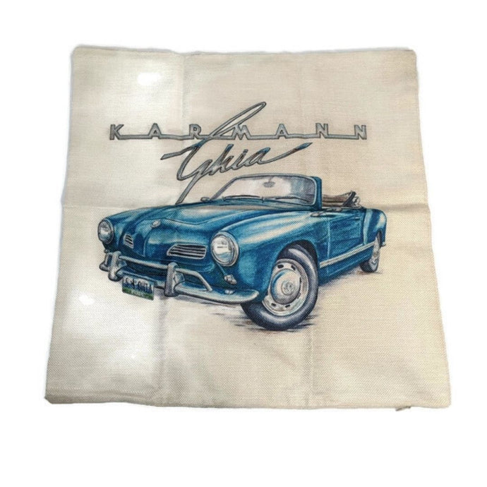 Ghia Pillow Case, - Aircooled VW - Vintage Vdub