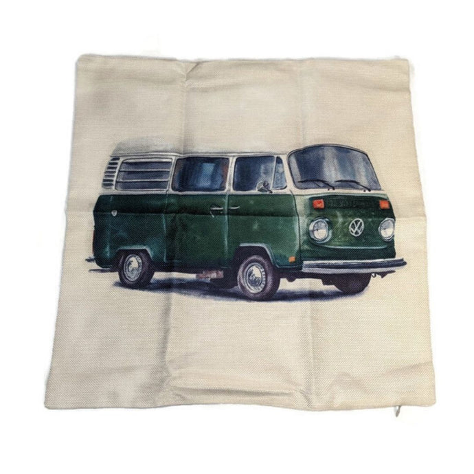 Westy Pillow Case, - Aircooled VW - Vintage Vdub