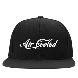 Air Cooled Embroidered Snapback, - Aircooled VW - Vintage Vdub