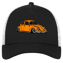 Load image into Gallery viewer, Bug Embroidered New Era® Trucker - Vintage Vdub