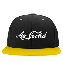 Load image into Gallery viewer, Air Cooled Embroidered Snapback, - Aircooled VW - Vintage Vdub
