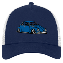 Load image into Gallery viewer, Bug Embroidered New Era® Trucker, - Aircooled VW - Vintage Vdub