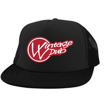 Load image into Gallery viewer, Vintage Red Embroidered Trucker - Vintage Vdub